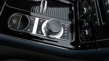 Jaguar XJ - centre console