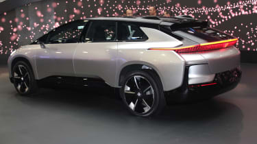 Faraday Future CES 2017 rear