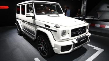 Frankfurt - Mercedes-AMG G wagon - front