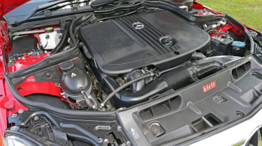 Used Mercedes C-Class - engine
