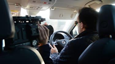 Skoda Karoq road trip - filming