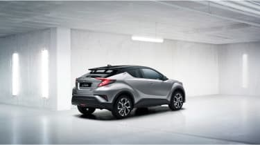 Toyota C-HR - rear three quarter