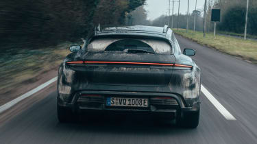Porsche Taycan Cross Turismo prototype - full rear
