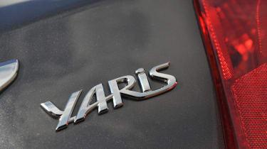 Toyota Yaris boot