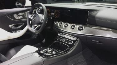 2017 Mercedes E-Class Cabriolet - Geneva interior