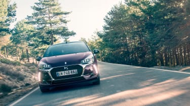 DS 3 Cabrio - front tracking