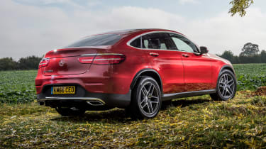 Mercedes GLC 250d Coupe - rear static