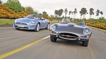 Jaguar XK Vs E-Type