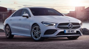 Mercedes CLA 250 AMG Line - front static