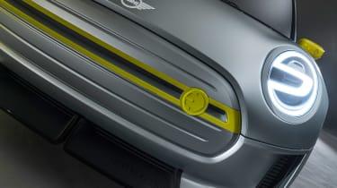 MINI Electric concept - front detail