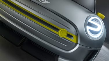 MINI Electric concept - front detail