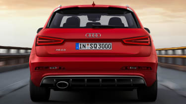 Audi Q3 RS rear