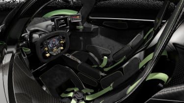 Aston Martin Valkyrie Mantis - interior