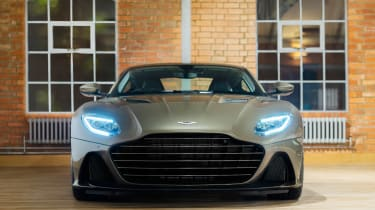 Aston Martin DBS Superleggera On Her Majesty's Secret Service - full front
