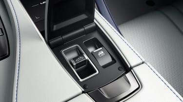 Lexus LC Convertible - roof controls
