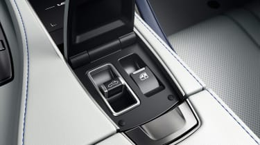 Lexus LC Convertible - roof controls