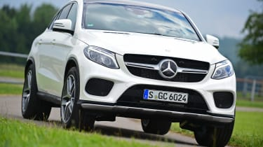Mercedes GLE Coupe 2015 action