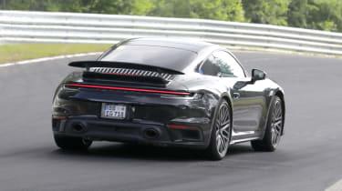 Porsche 911 Turbo Hybrid - rear