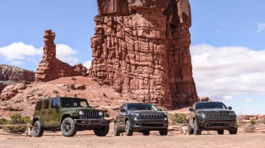 75 years of Jeep - trio