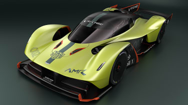 Aston Martin Valkyrie AMR Pro - front