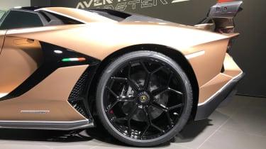 Lamborghini Aventador SVJ Roadster - Geneva wheel