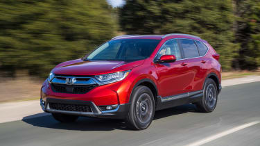 New Honda CR-V - front