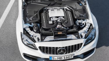 Mercedes-AMG C 63 S - engine