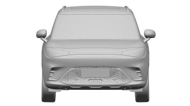 Smart SUV - design patent full front