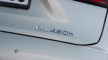 Lexus RX 450h rear badge