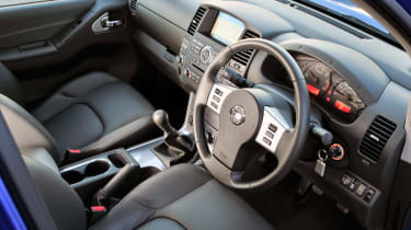 The dashboard is well made and features hard-wearing plastics.