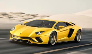 Lamborghini Aventador S - front tracking