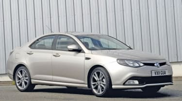 MG6 Saloon front