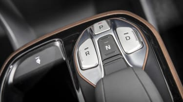 Hyundai IONIQ EV 2016 UK - centre console