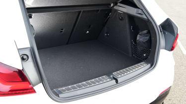 BMW 128ti - boot