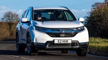 Honda CR-V hybrid - front cornering