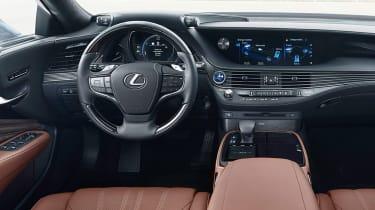 Lexus LS 500h - dash