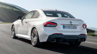 BMW 220i - rear action