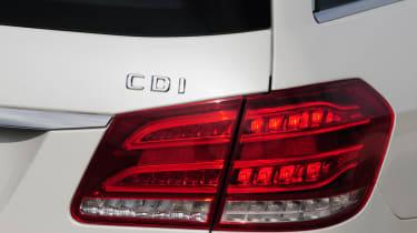Mercedes E-Class Estate badge