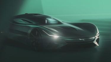 Jaguar Vision GT concept - front tease