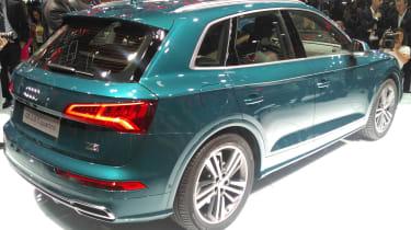 Audi Q5 - Paris rear three quarter