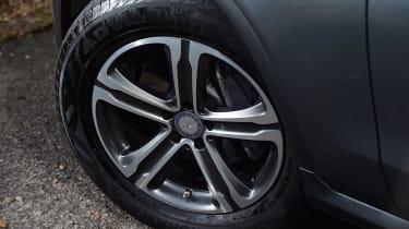 Mercedes GLC long-term third report - wheel