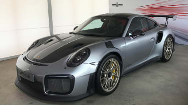 Porsche 911 GT2 RS - Goodwood front