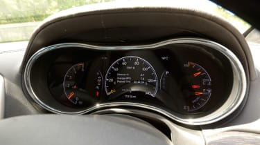 Jeep Grand Cherokee speedometer