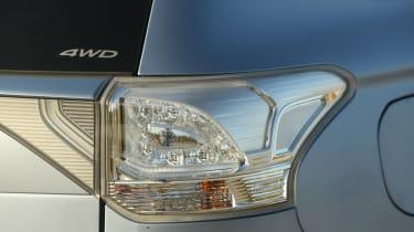 Mitsubishi Outlander PHEV taillight