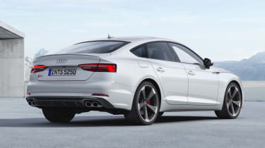 Audi S5 Coupe - rear static
