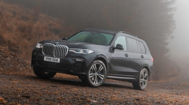BMW X7 - front static