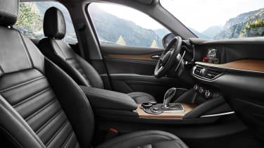 Alfa Romeo Stelvio First Edition interior