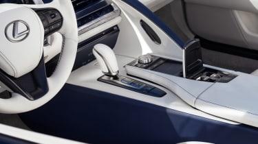 Lexus LC Convertible - cabin