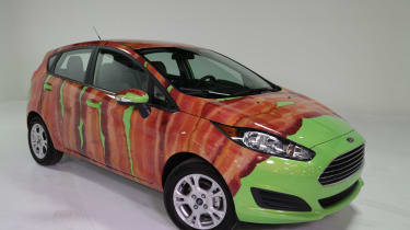 Ford Fiesta Bacon front