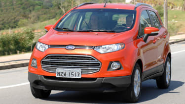 Ford EcoSport 2.0L front action